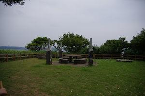 猿島 広場