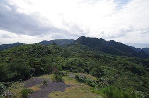 岩山からツツジ山を望む